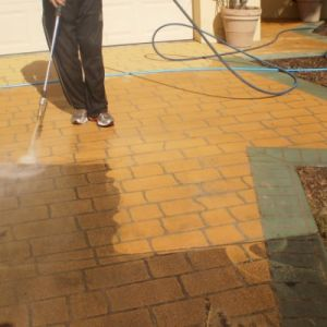 Pressure Cleaning Brisbane Driveways